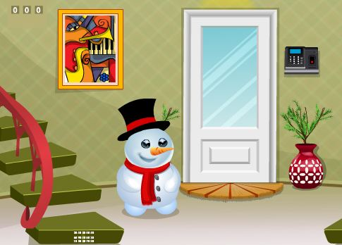 Snowman House Escape Games 2 Jolly