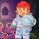 Space Man Rescue Games4King