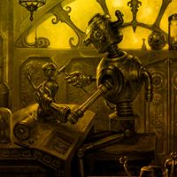Steampunk Factory Escape Games2Rule
