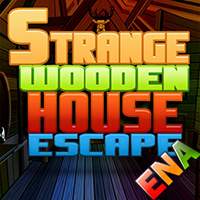 Strange Wooden House Escape ENA Games