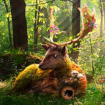 Summer Deer Forest Escape Games2Rule