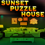 Sunset Puzzle-House Escape Games4King