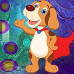 Superhero Dog Escape Games4King