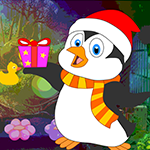 Surprised Penguin Escape Games4King