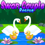 Swan Couple Rescue Games4King