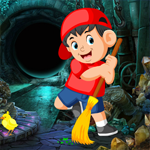 Sweeper Boy Escape Games4King