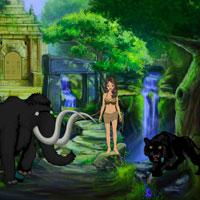 Tarzan Girl Escape Games2Rule