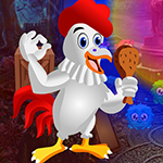 Tasty Chicken Rescue Games4King