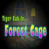 Tiger Cub In Forest Cage TheEscapeGames