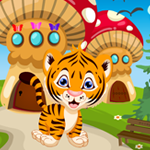 Tiger Cub Rescue Games4King