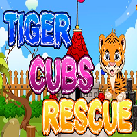 Tiger Cubs Rescue Games2Jolly