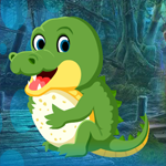 Tiny Crocodile Escape Games4King