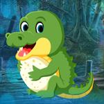 Tiny Crocodile Escape Games4King