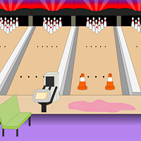Toon Escape Bowling Alley MouseCity