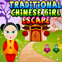 Traditional Chinese Girl Escape Games4King