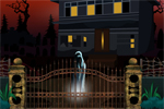 Trapped In Ghost House Escape 5nGames