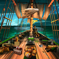 Treasure From Pirate Ship ENAGames