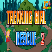 Trekking Girl Rescue 2 Games2Jolly