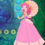Umbrella Girl Rescue Games4King