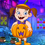Unattractive Pumpkin Girl Escape Games4King