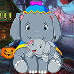 Unruffled Elephant Escape Games4King