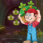 Vegetable Man Rescue Games4King