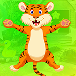Very Cheerful Tiger Escape Games4King