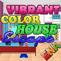 Vibrant Color House Escape ENAGames