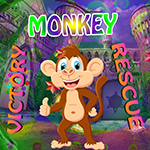 Victory Monkey Rescue Games4King
