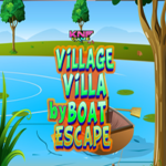 Village Villa Escape By Boat KNFGames