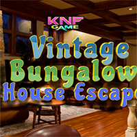Vintage Bungalow House Escape KNFGames