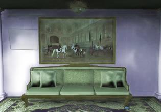 Vintage Painting House Escape EscapeFan