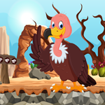 Vulture Rescue Games4King