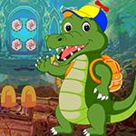 Wave Crocodile Escape Games4King
