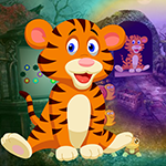 Weary Tiger Rescue Games4King