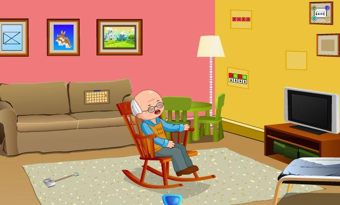 Wheezing Grandpa Escape Games2Jolly