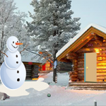 Winter Cabin Christmas Celebration Escape GenieFunGames