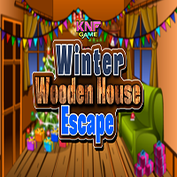 Winter Wooden House Escape KNFGames