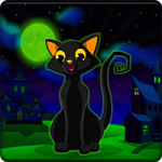 Witch Cat Escape Games2Jolly