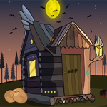 Witch House Rescue GenieFunGames