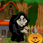 Witch Rescue From The Old House Games4King