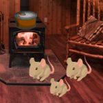 Wood Mouse House Escape Games2Rule