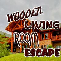 Wooden Living Room Escape EightGames