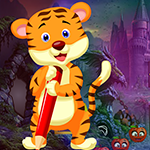 Writing Tiger Rescue Games4King