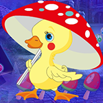 Yellow Duckling Escape Games4King