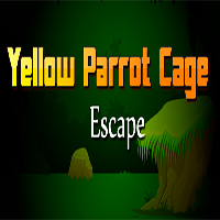 Yellow Parrot Cage Escape TheEscapeGames