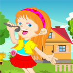 Young Singer Girl Rescue Games4King